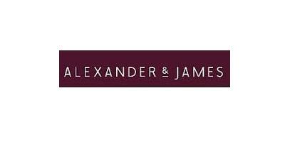 Alexander and James logo